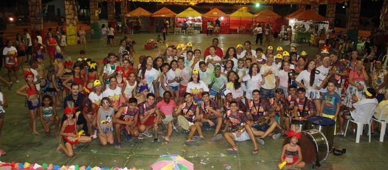Bloco da Assistência Social abre o Carnaval de Barra de São Miguel