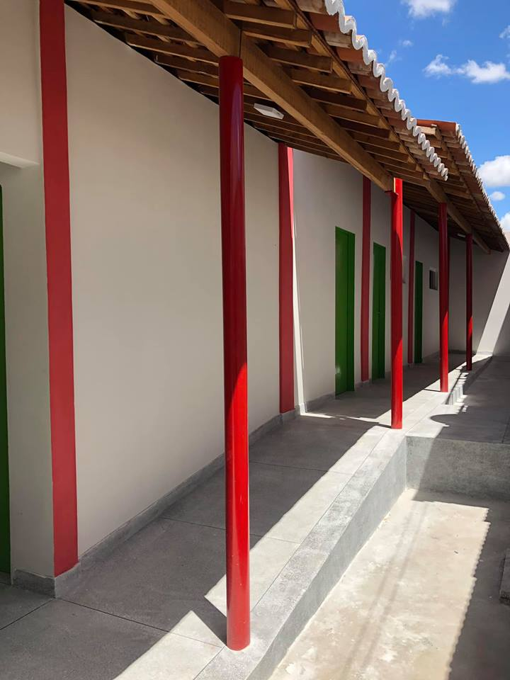 Reforma e ampliação da Unidade de Saúde Dr. Sebastião Pedrosa está em fase final