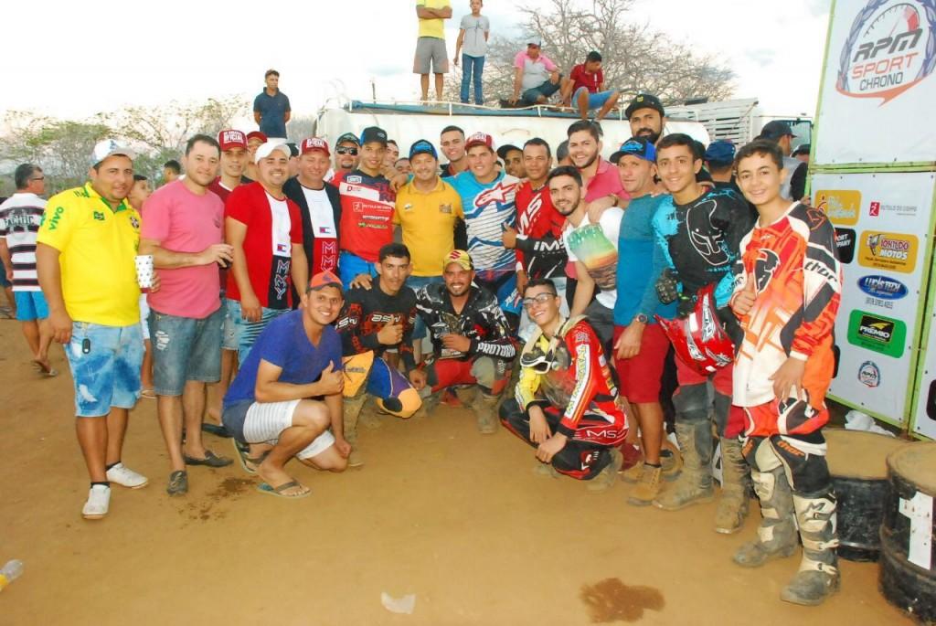 Sucesso: Emoção e superação marcam o Motocross de Barra de São Miguel