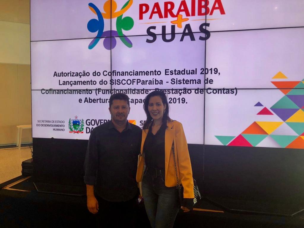 Prefeito João Batista participa do lançamento do Cofinanciamento Estadual 2019 em João Pessoa