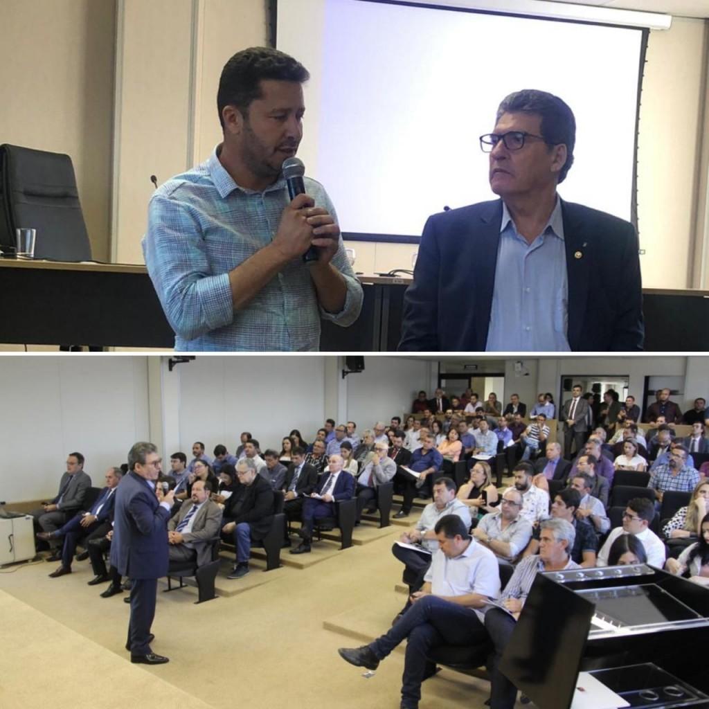 """Prefeito João Batista participa de audiência em Campina Grande sobre """"Fim dos Lixões"""""""
