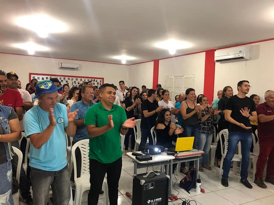 Prefeitura de Barra de São Miguel realiza encontro de Profissionais da Saúde