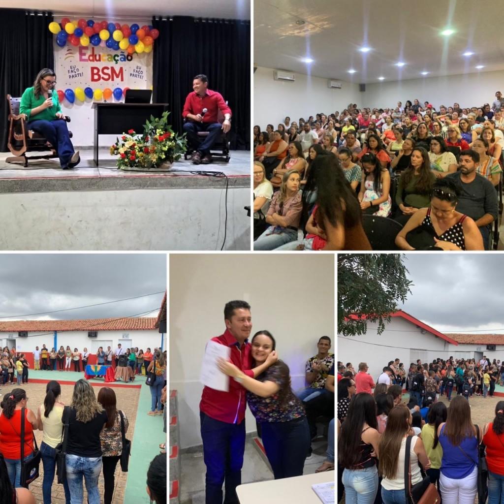 Secretaria de Educação de Barra de São Miguel realiza Seminário de Abertura do Ano Letivo 2020
