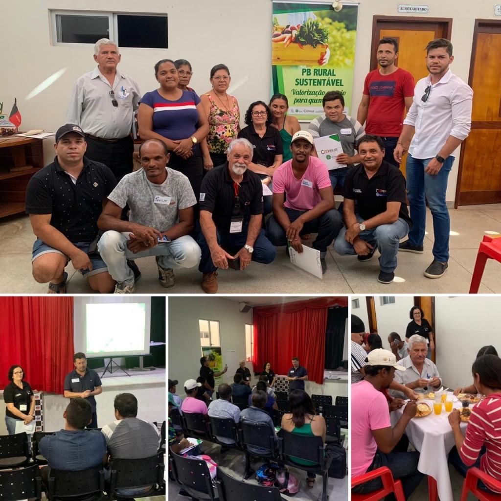Programa PB Rural Sustentável: Oficina de Fortalecimento do CMDRS é realizada em Barra de São Miguel