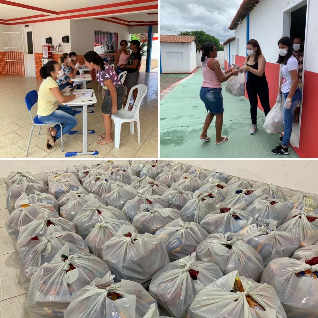 Prefeitura de Barra de São Miguel inicia entrega de cestas básicas as famílias carentes do município