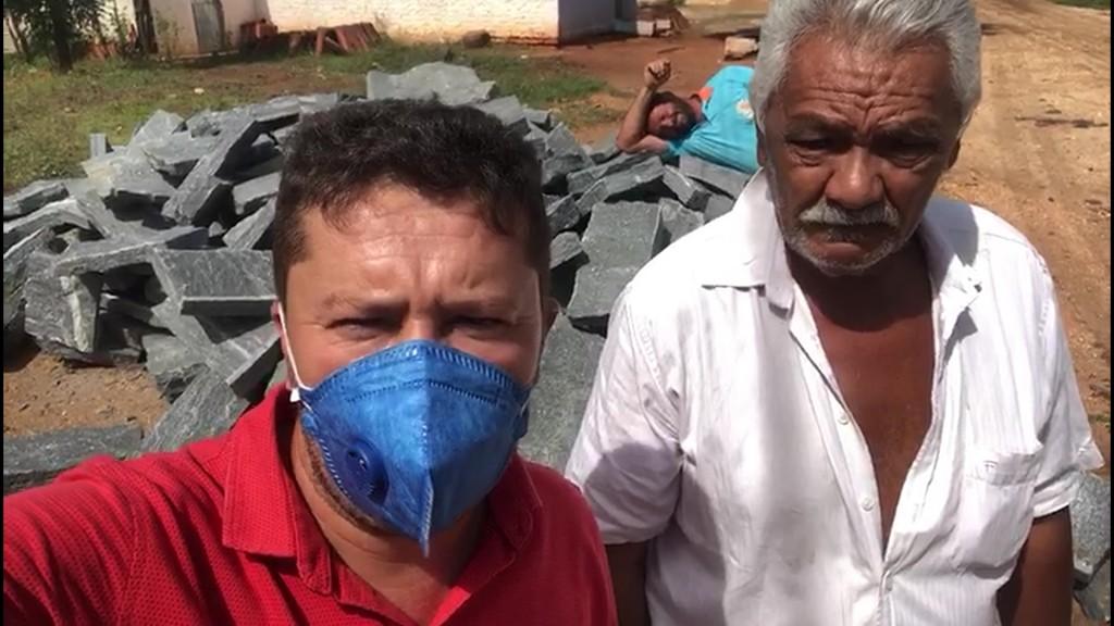 Prefeitura inicia pavimentação em ruas da Comunidade Pata