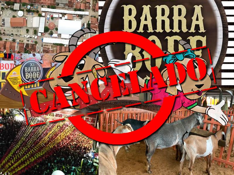 Prefeitura de Barra de São Miguel cancela Edição 2020 da Festa do Barra Bode