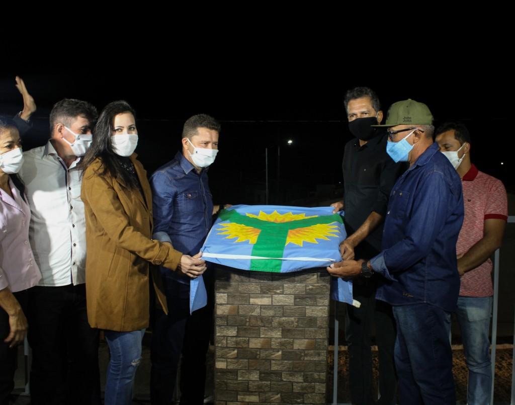 Contente: Prefeitura de Barra de São Miguel entrega diversas obras ao Alto da Bela Vista