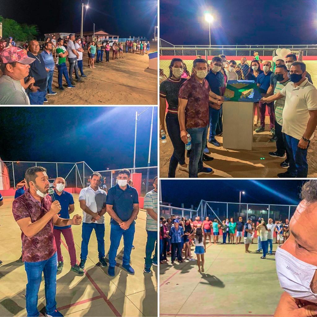 Final de semana do Esporte: Prefeito João Batista entrega obras e premia equipes de futebol de Mini Campo