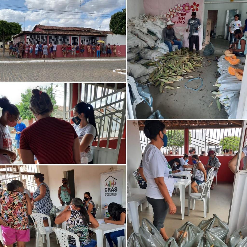 Prefeitura de Barra distribui cerca de 4 toneladas de alimentos adquiridos pelo Programa de Aquisição de Alimentos – PAA